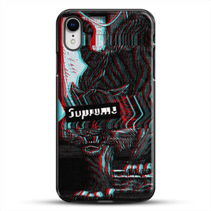 Black Beast iPhone XR Case, Black Plastic Case | JoeYellow.com