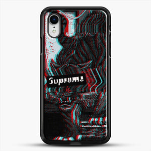Black Beast iPhone XR Case, Black Rubber Case | JoeYellow.com