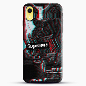 Black Beast iPhone XR Case, Black Snap 3D Case | JoeYellow.com