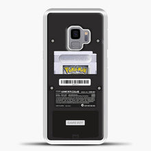 Load image into Gallery viewer, Black Gameboy Color Silver Cartridge Samsung Galaxy S9 Case