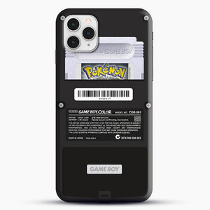 Black Gameboy Color Silver Cartridge iPhone 11 Pro Case, Black Snap 3D Case | JoeYellow.com