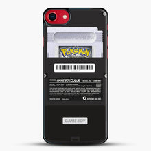 Load image into Gallery viewer, Black Gameboy Color Silver Cartridge iPhone 7 Case, Black Plastic Case | JoeYellow.com