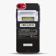 Load image into Gallery viewer, Black Gameboy Color Silver Cartridge iPhone 7 Case, White Plastic Case | JoeYellow.com