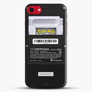 Black Gameboy Color Silver Cartridge iPhone 7 Case, Black Snap 3D Case | JoeYellow.com