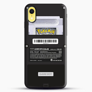Black Gameboy Color Silver Cartridge iPhone XR Case, Black Snap 3D Case | JoeYellow.com