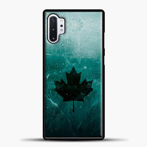 Black Ice Xx Norm Black Leaves Samsung Galaxy Note 10 Plus Case