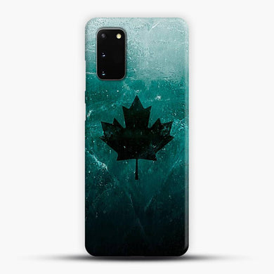 Black Ice Xx Norm Black Leaves Samsung Galaxy S20 Case, Snap 3D Case | JoeYellow.com