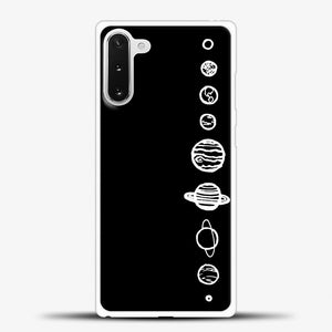 Black Planets Samsung Galaxy Note 10 Case
