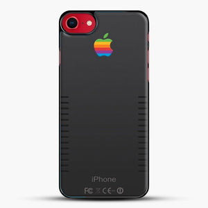 Black Retro iPhone iPhone 8 Case, Black Plastic Case | JoeYellow.com