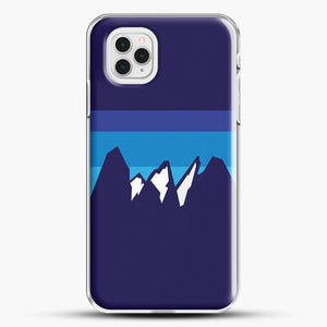 Blue Mountain iPhone 11 Pro Case, White Plastic Case | JoeYellow.com