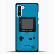 Load image into Gallery viewer, Blue Nintendo Gameboy Color Samsung Galaxy Note 10 Case