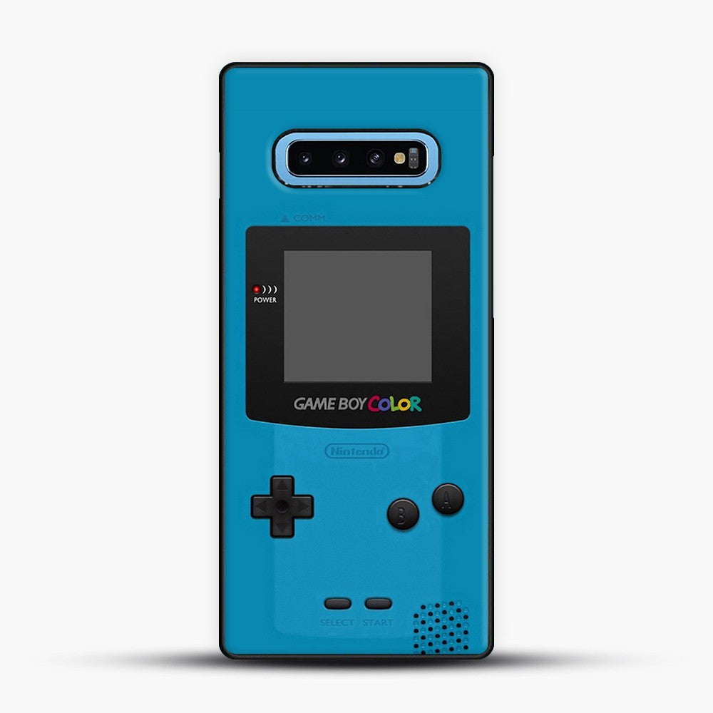 Blue Nintendo Gameboy Color Samsung Galaxy S10 Case