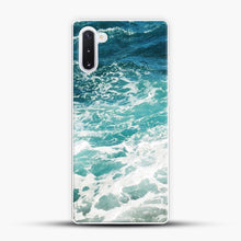 Load image into Gallery viewer, Blue Ocean Waves Samsung Galaxy Note 10 Case