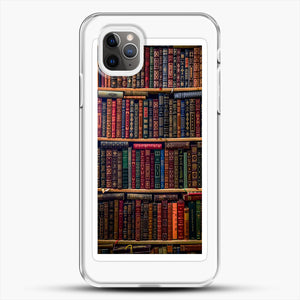 Books iPhone 11 Pro Max Case, White Plastic Case | JoeYellow.com