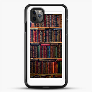 Books iPhone 11 Pro Max Case, Black Rubber Case | JoeYellow.com