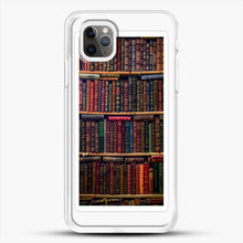 Load image into Gallery viewer, Books iPhone 11 Pro Max Case, White Rubber Case | JoeYellow.com