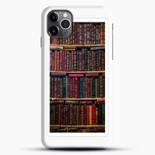 Load image into Gallery viewer, Books iPhone 11 Pro Max Case, Black Snap 3D Case | JoeYellow.com