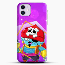 Load image into Gallery viewer, Brawl Stars Gene iPhone 11 Case, Black Snap 3D Case | JoeYellow.com