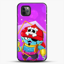 Load image into Gallery viewer, Brawl Stars Gene iPhone 11 Pro Max Case, Black Plastic Case | JoeYellow.com