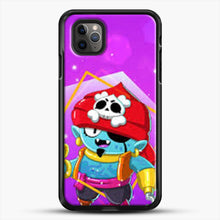 Load image into Gallery viewer, Brawl Stars Gene iPhone 11 Pro Max Case, Black Rubber Case | JoeYellow.com