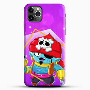 Brawl Stars Gene iPhone 11 Pro Max Case, Black Snap 3D Case | JoeYellow.com
