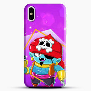 Brawl Stars Gene iPhone X Case, Black Snap 3D Case | JoeYellow.com