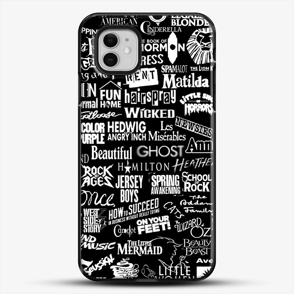 Broadway Baby iPhone 11 Case, Black Plastic Case | JoeYellow.com
