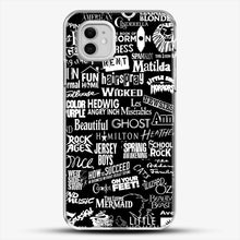 Load image into Gallery viewer, Broadway Baby iPhone 11 Case, White Plastic Case | JoeYellow.com