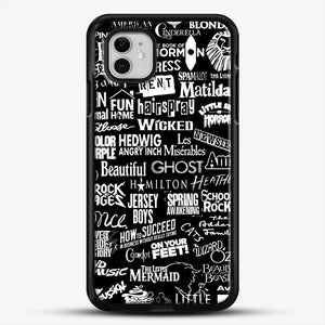 Broadway Baby iPhone 11 Case, Black Rubber Case | JoeYellow.com