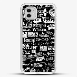 Broadway Baby iPhone 11 Case, White Rubber Case | JoeYellow.com