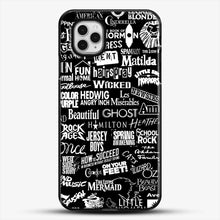 Load image into Gallery viewer, Broadway Baby iPhone 11 Pro Case, Black Plastic Case | JoeYellow.com