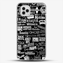 Load image into Gallery viewer, Broadway Baby iPhone 11 Pro Case, White Plastic Case | JoeYellow.com