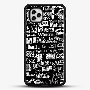 Broadway Baby iPhone 11 Pro Case, Black Rubber Case | JoeYellow.com