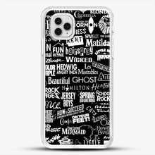 Load image into Gallery viewer, Broadway Baby iPhone 11 Pro Case, White Rubber Case | JoeYellow.com