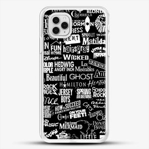 Broadway Baby iPhone 11 Pro Case, White Rubber Case | JoeYellow.com