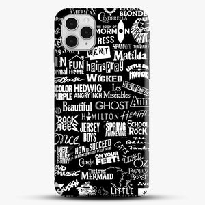 Broadway Baby iPhone 11 Pro Case, Black Snap 3D Case | JoeYellow.com