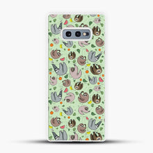 Load image into Gallery viewer, Cacti Sloths Tosca Background Samsung Galaxy S10e Case