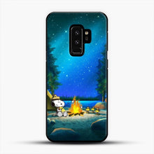 Load image into Gallery viewer, Camp Fire Snoopy Samsung Galaxy S9 Plus Case