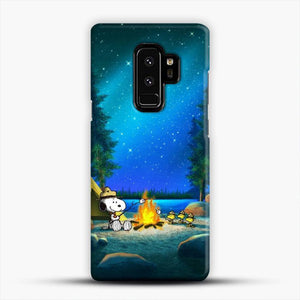 Camp Fire Snoopy Samsung Galaxy S9 Plus Case