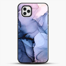 Load image into Gallery viewer, Captivating 1 Alcohol Ink Painting iPhone 11 Pro Case, Black Plastic Case | JoeYellow.com