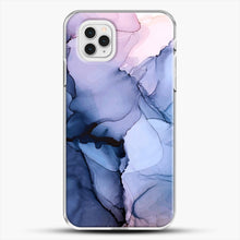 Load image into Gallery viewer, Captivating 1 Alcohol Ink Painting iPhone 11 Pro Case, White Plastic Case | JoeYellow.com