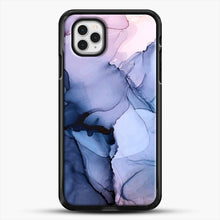 Load image into Gallery viewer, Captivating 1 Alcohol Ink Painting iPhone 11 Pro Case, Black Rubber Case | JoeYellow.com