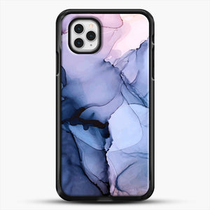Captivating 1 Alcohol Ink Painting iPhone 11 Pro Case, Black Rubber Case | JoeYellow.com