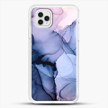 Load image into Gallery viewer, Captivating 1 Alcohol Ink Painting iPhone 11 Pro Case, White Rubber Case | JoeYellow.com