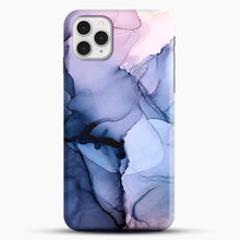 Load image into Gallery viewer, Captivating 1 Alcohol Ink Painting iPhone 11 Pro Case, Black Snap 3D Case | JoeYellow.com