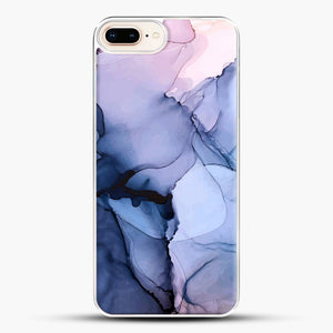 Captivating 1 Alcohol Ink Painting iPhone 8 Plus Case, White Plastic Case | JoeYellow.com