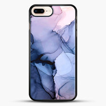 Load image into Gallery viewer, Captivating 1 Alcohol Ink Painting iPhone 8 Plus Case, Black Rubber Case | JoeYellow.com