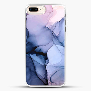 Captivating 1 Alcohol Ink Painting iPhone 8 Plus Case, White Rubber Case | JoeYellow.com