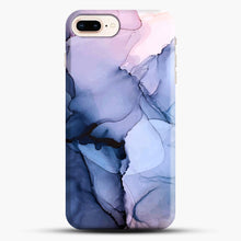 Load image into Gallery viewer, Captivating 1 Alcohol Ink Painting iPhone 8 Plus Case, Black Snap 3D Case | JoeYellow.com