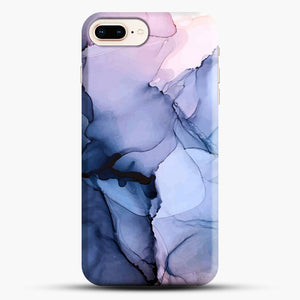Captivating 1 Alcohol Ink Painting iPhone 8 Plus Case, Black Snap 3D Case | JoeYellow.com